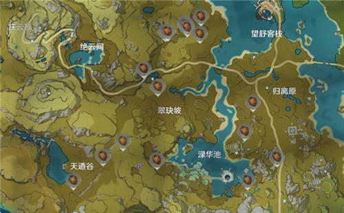 原神松果在哪 地图分布位置介绍