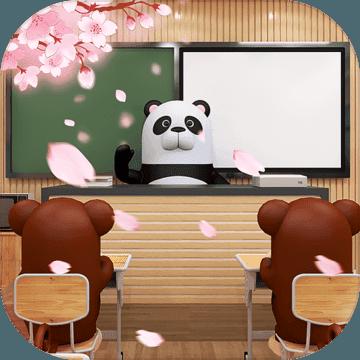 开满樱花的校园
